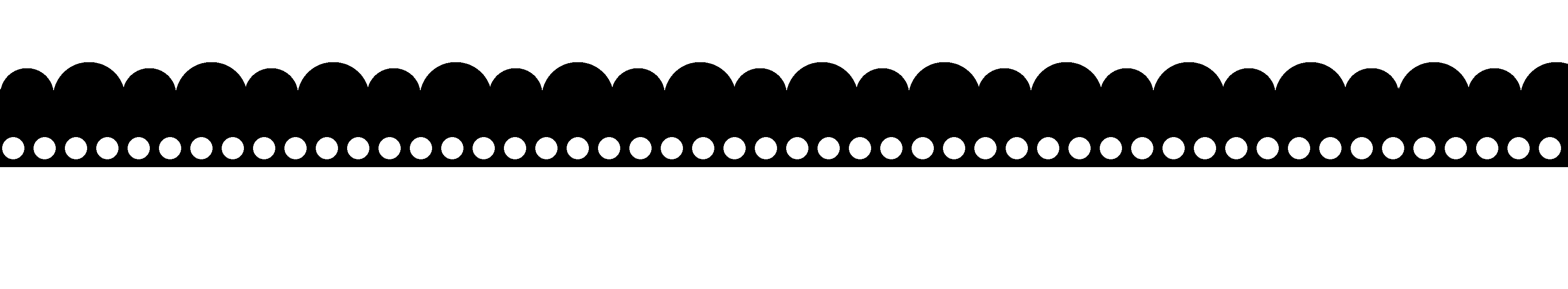 scallop design template
